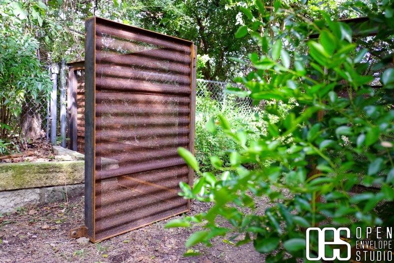 OES   Custom steel gate details